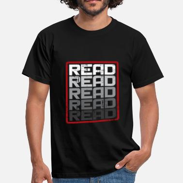 This Reading Read Read Read Read Gift Saying - Men's T-Shirt