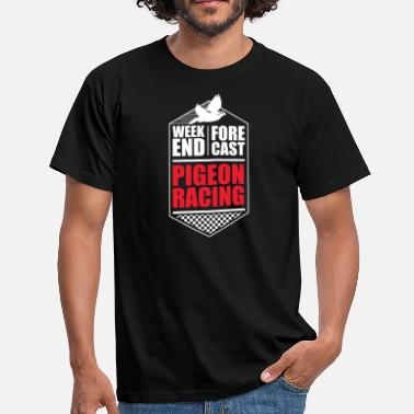 Racing Pigeon Weekend Tshirt - T-skjorte for menn