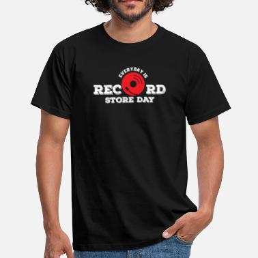 Record Store Everyday Is Record Store Day Shirt, Vinyl Record Shirt, Vintage Record Shirt, DJ Shirt, Record - Men's T-Shirt
