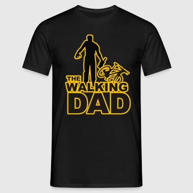 walking dad - Männer T-Shirt