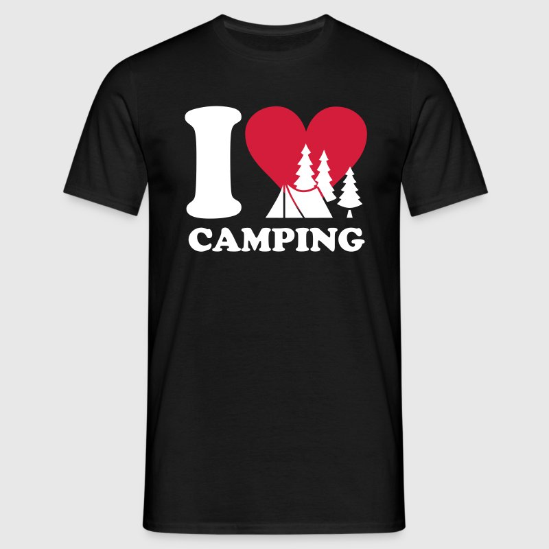 i love camping - Men's T-Shirt