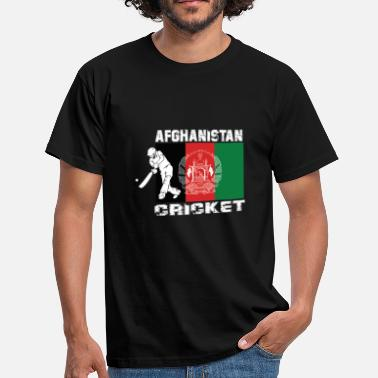 Afghanistan Afghanistan cricket player flag - Men's T-Shirt