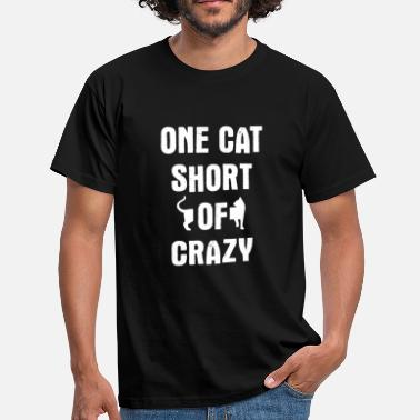 Crazy Crazy Cat - Men's T-Shirt