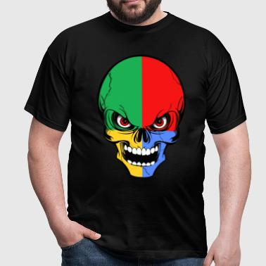 four colors skull - T-shirt Homme