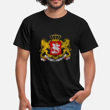 Suit Of Armor Georgian Coat of Arms Georgia - T-shirt herr