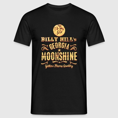 Moonshine Whiskey, distressed - Männer T-Shirt