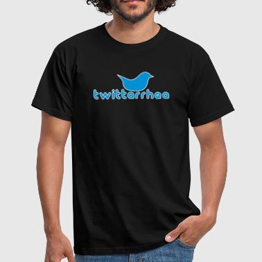 Twitterrhea - Men's T-Shirt