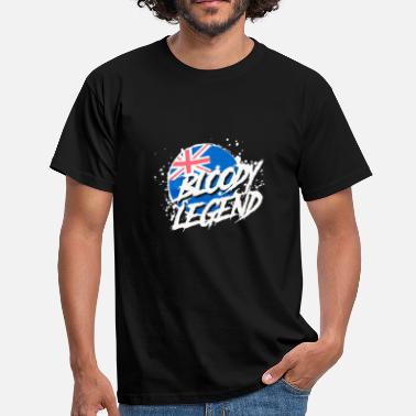 Legend Bloody Legends logo - Men's T-Shirt