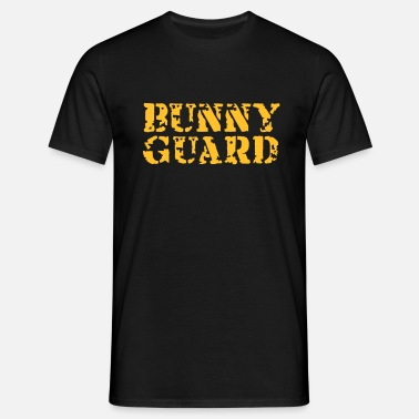 Sex Bunny Bunny Guard - Männer T-Shirt