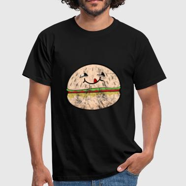 Junk Food Burger - Men's T-Shirt