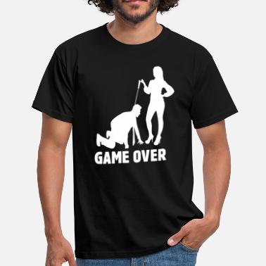 Vrijgezellenfeest Game Over Game Over Vrijgezellenfeest - Mannen T-shirt