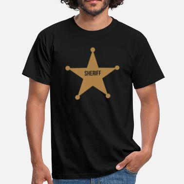 Sheriff Ster Sheriff Ster - Mannen T-shirt