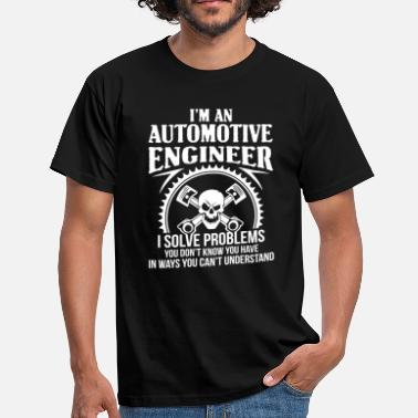 Automotive Automotive Engineer - car-auto - Men's T-Shirt