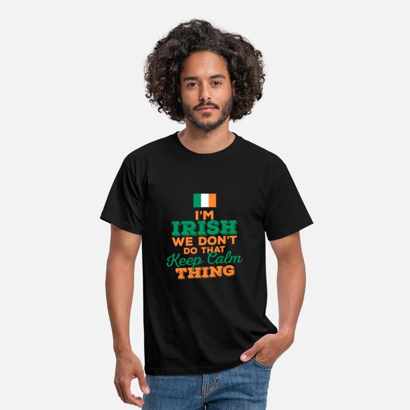 Ireland T-Shirts - I'm Irish - Men's T-Shirt black