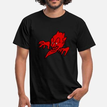 Diavolo Red devil - T-skjorte for menn