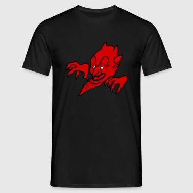 Red devil - T-skjorte for menn