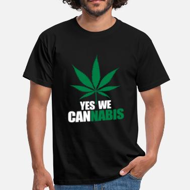 Marley Yes we cannnabis - T-shirt Homme