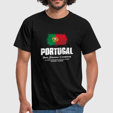 Portugal Flag Logo - Männer T-Shirt