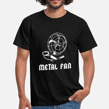 Fan Metal Fan - Mannen T-shirt