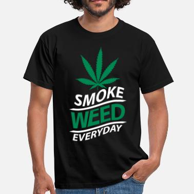 Smoke Weed Everyday smoke weed everyday vague - T-shirt Homme