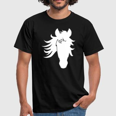Cheval Camargue - T-shirt Homme