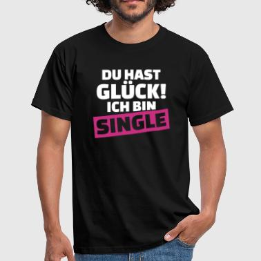 Single - Männer T-Shirt