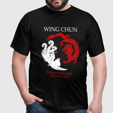 Wing Tsun - International Martial Arts - Männer T-Shirt