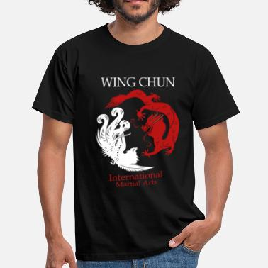 Chun Wing Tsun - International Martial Arts - Männer T-Shirt