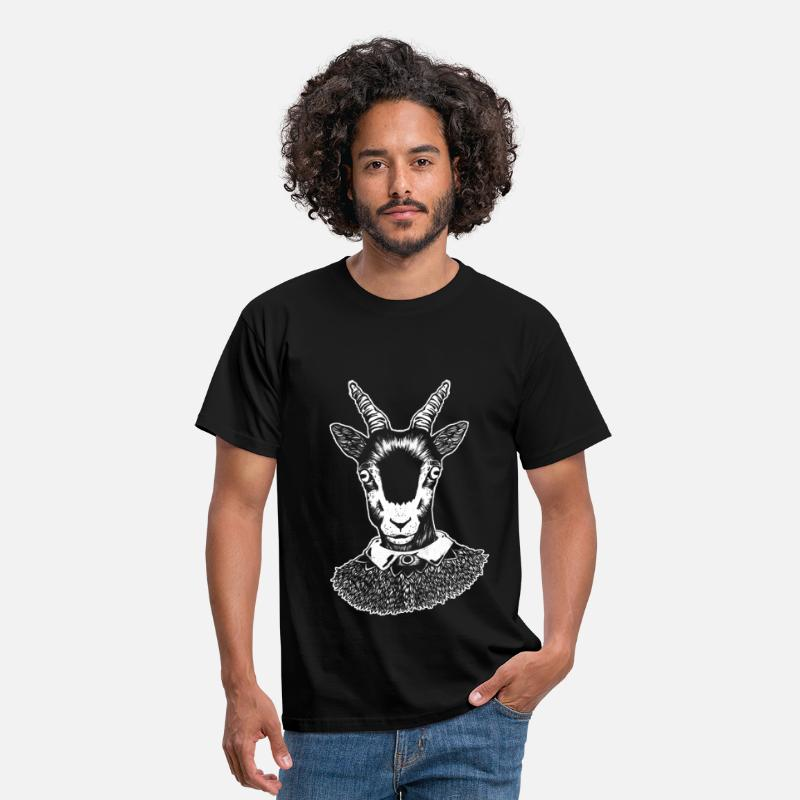 Bestsellers Q4 2018 T-Shirts - Goat - Men's T-Shirt black