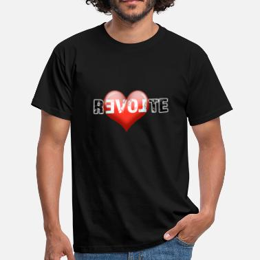 Revolt Revolt - LOVE - Men's T-Shirt