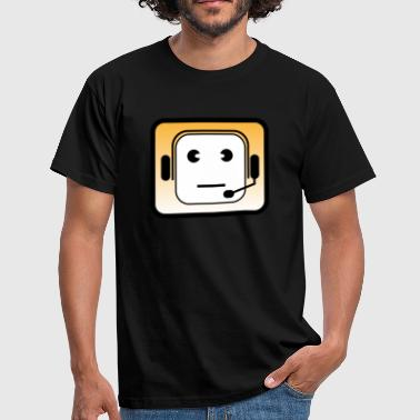 headset - Herre-T-shirt