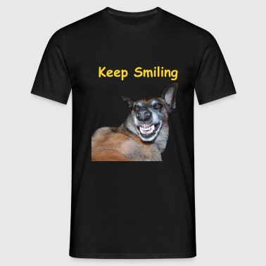 Keep Smilling - T-shirt Homme
