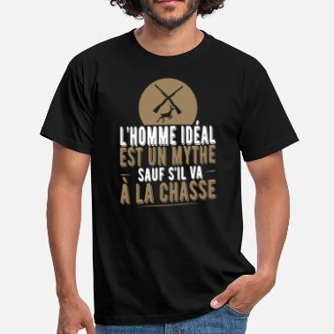 Homme Idéal Chasseur Humour Homme Homme idéal t shirt chasseur humour - T-shirt Homme