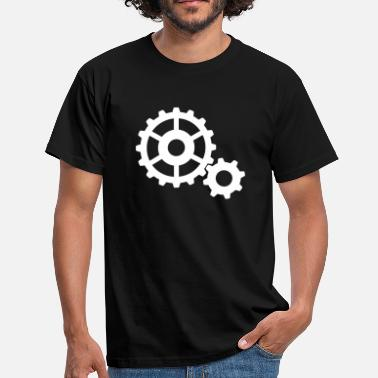 Steampunk Cogs gears cogs - Men's T-Shirt