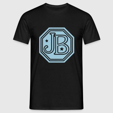 jb monogram letters - Men's T-Shirt