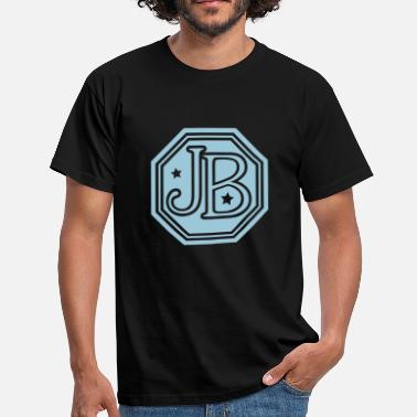 Jb jb monogram letters - Men's T-Shirt