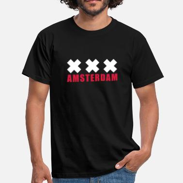 Drugs Xxx Amsterdam Holland XXX - Men's T-Shirt