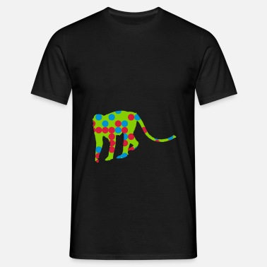 Selva Animal mono selva escalada animal - Camiseta hombre