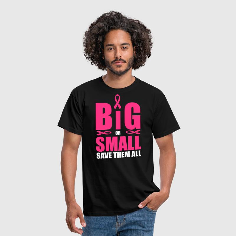 Big or small, save them all - Men's T-Shirt