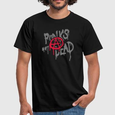 Punks Not Dead - Herre-T-shirt
