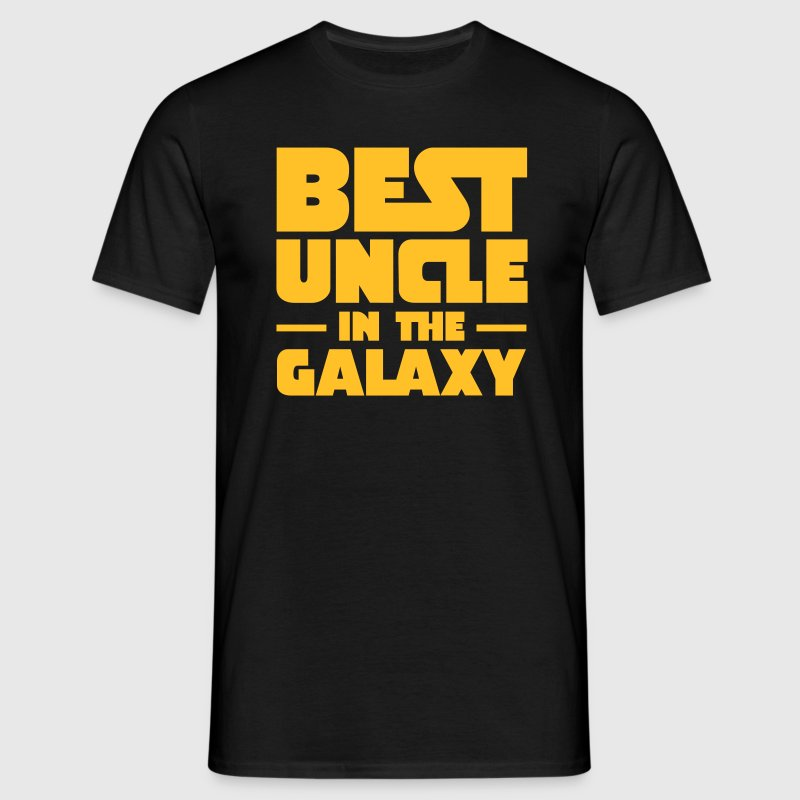 Best Uncle In The Galaxy - Mannen T-shirt