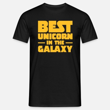 Best In The Galaxy Best Unicorn In The Galaxy - Mannen T-shirt