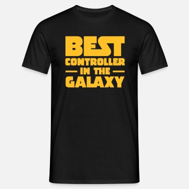Best In The Galaxy Best Controller In The Galaxy - Mannen T-shirt