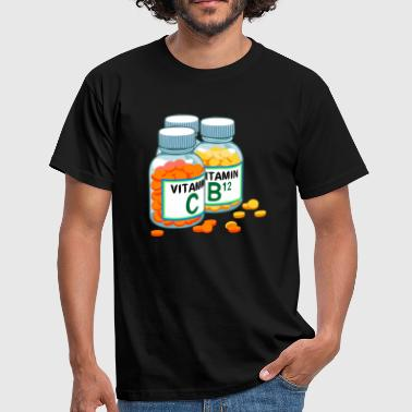 Vitamin vitamins - Men's T-Shirt