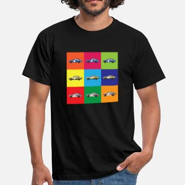 Motorsport Muti Colour Rally Car - Men's T-Shirt