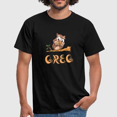 Greg Owl Greg - Men's T-Shirt