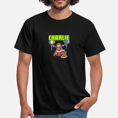 Charlie Puth Fire Department Charlie Gift - Men's T-Shirt