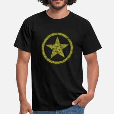 Military Star STAR MILITARY STONE - Men's T-Shirt