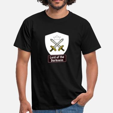 Knights Orders Of Chivalry Knights of the dark! Medieval knightly orders - Men's T-Shirt