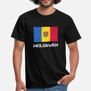 Moldova Flag Moldova - Men's T-Shirt